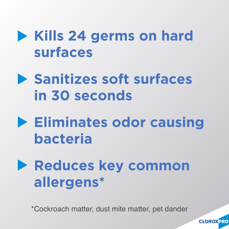 Clorox Commercial Solutions 4-in-One Disinfectant and