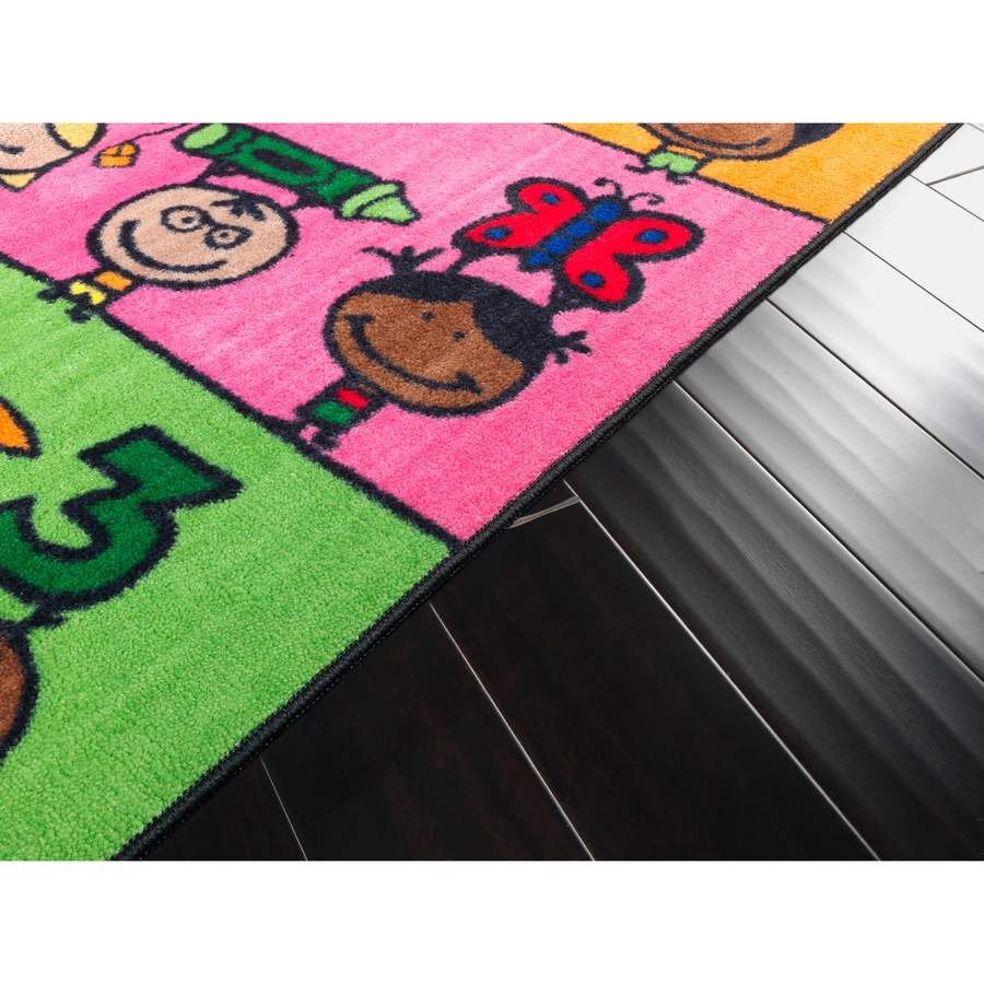 Flagship carpets easy care fun at school rug fci ce19016w for Easy rugs