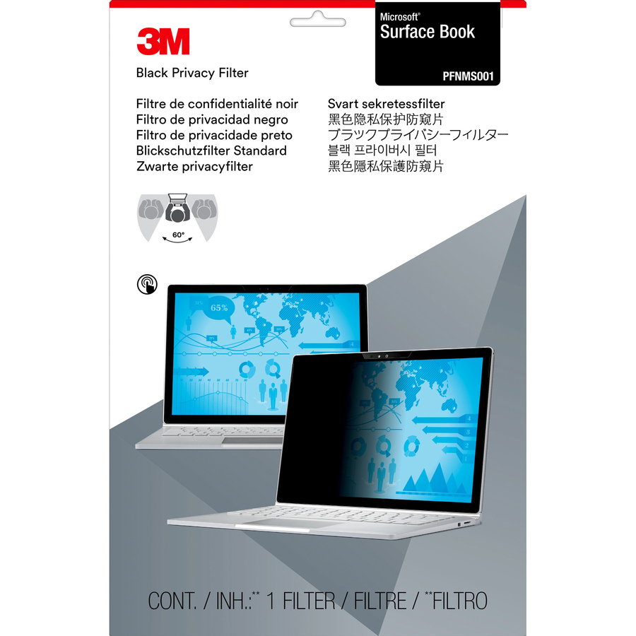3M Black Privacy Screen Filter