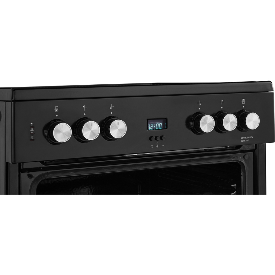 Beko EDC633K Electric Cooker with Double Oven and Grill