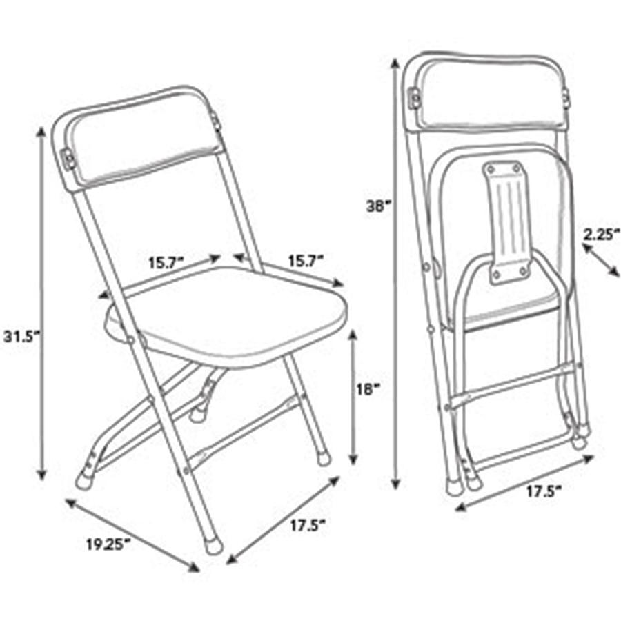 Pleasant Samsonite 2200 Series Injection Mold Folding Chair Apex Uwap Interior Chair Design Uwaporg