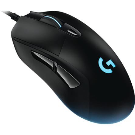 Logitech G403 Mouse - USB - Optical - 6 Buttons - Cable - 12000 dpi