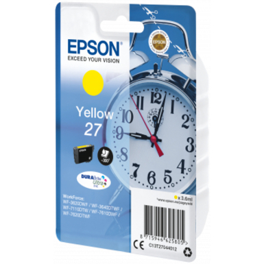 Epson Ink Cartridge - Yellow - Inkjet - 300 Pages