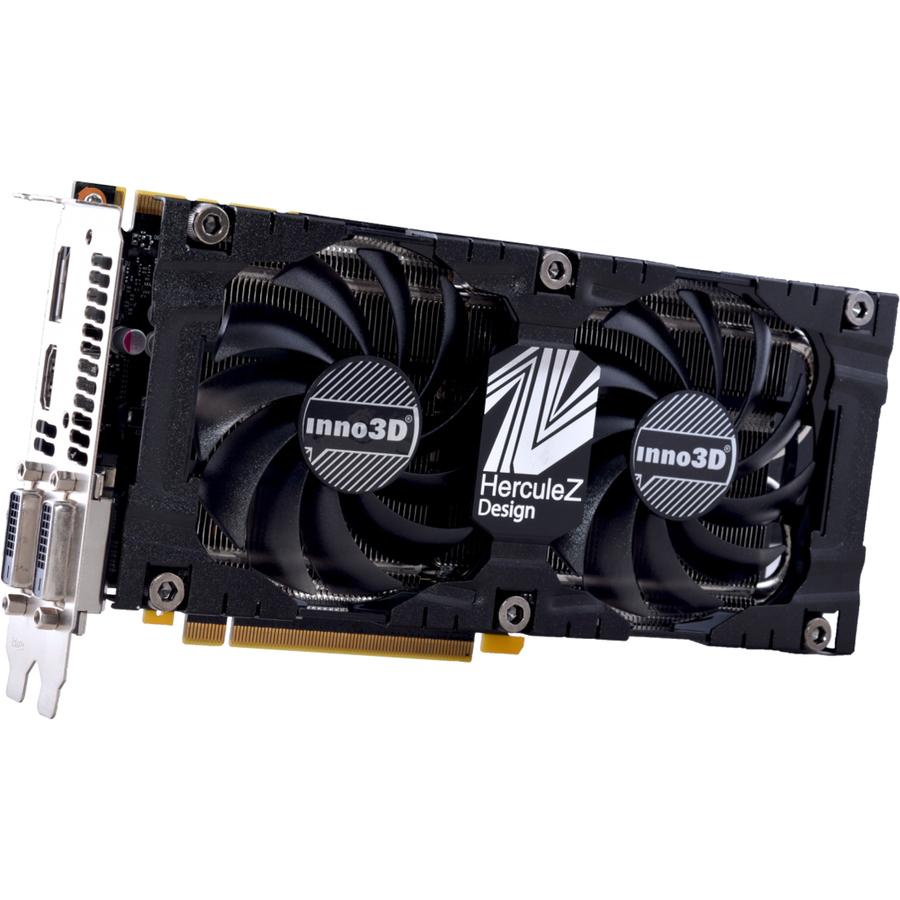 InnoVISION GeForce GTX 1070 Graphic Card - 8 GB GDDR5 - 1 51 GHz Core - 256  bit Bus Width - DisplayPort - HDMI - DVI
