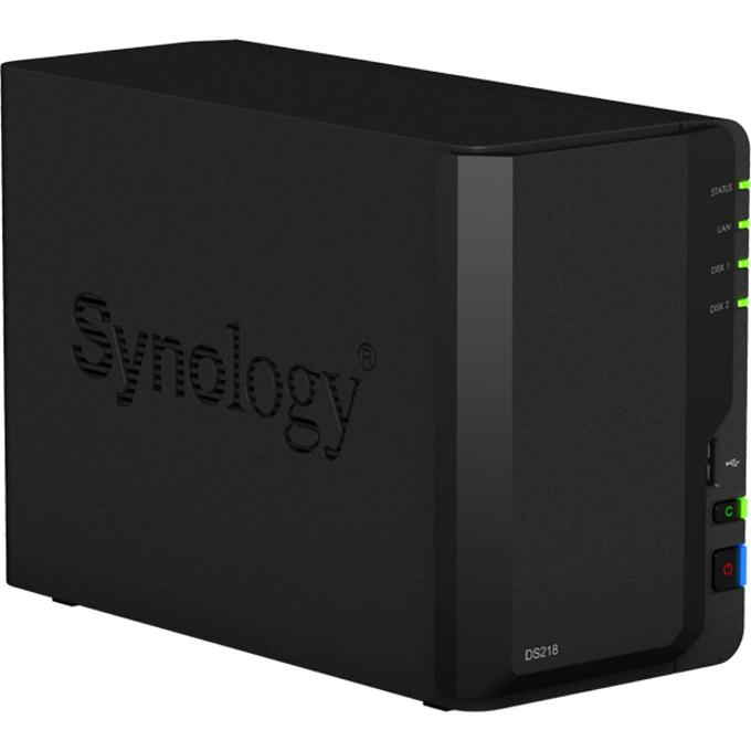 Synology DiskStation DS218 2 x Total Bays SAN/NAS Storage System