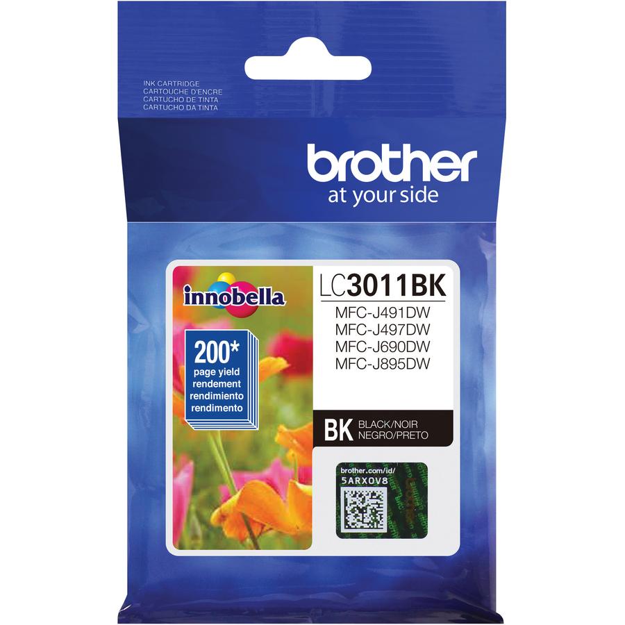 Brother Lc3011bk Ink Cartridge Black Tinta Hp 45 Original Gallery
