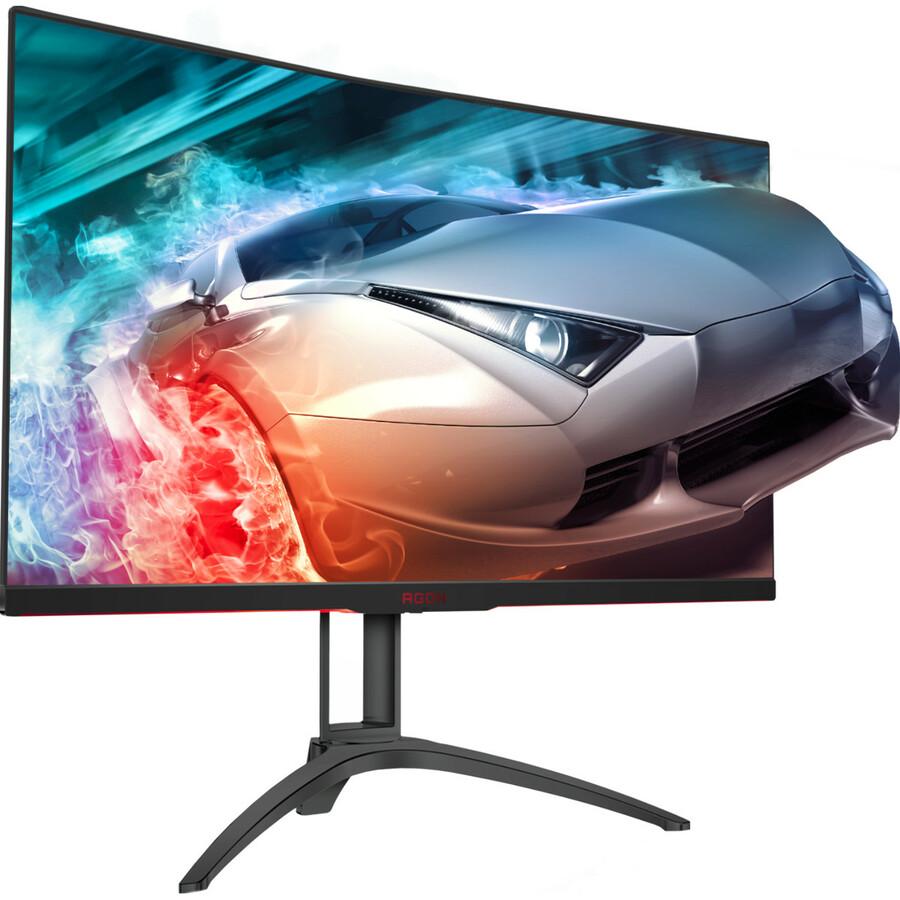AOC AGON AG322QC4 31.5inch WLED LCD Monitor - 16:9 - 4 ms - 2560 x 1440