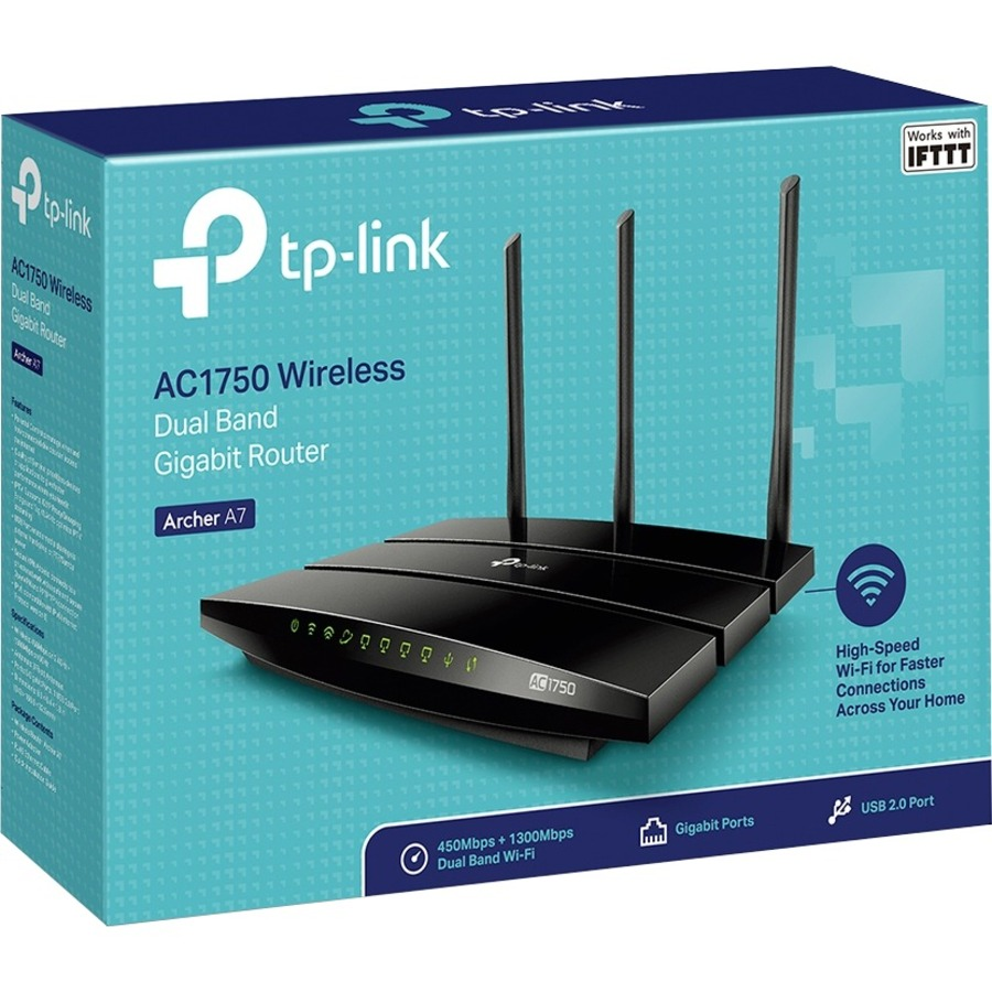 TP-LINK Archer A7 IEEE 802.11ac Ethernet Wireless Router