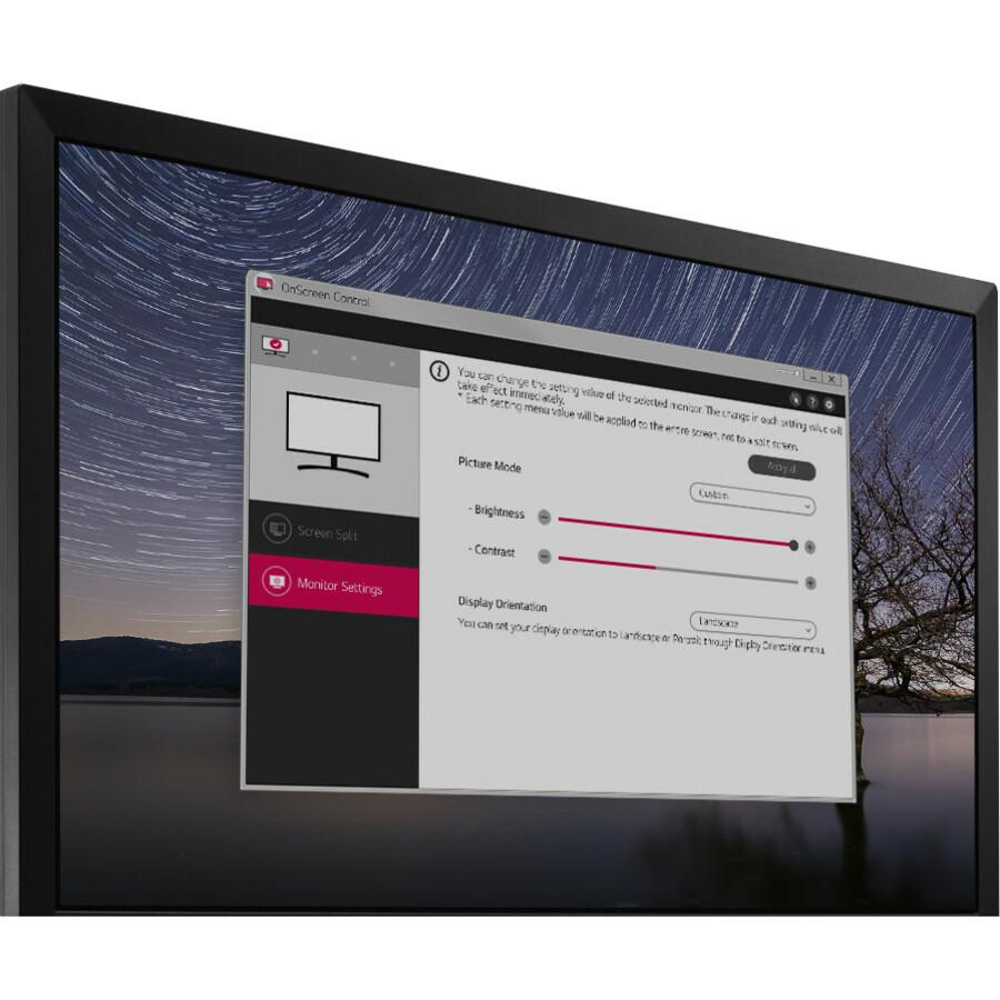 LG 24And#34; Full HD FreeSync 1ms Gaming Monitor