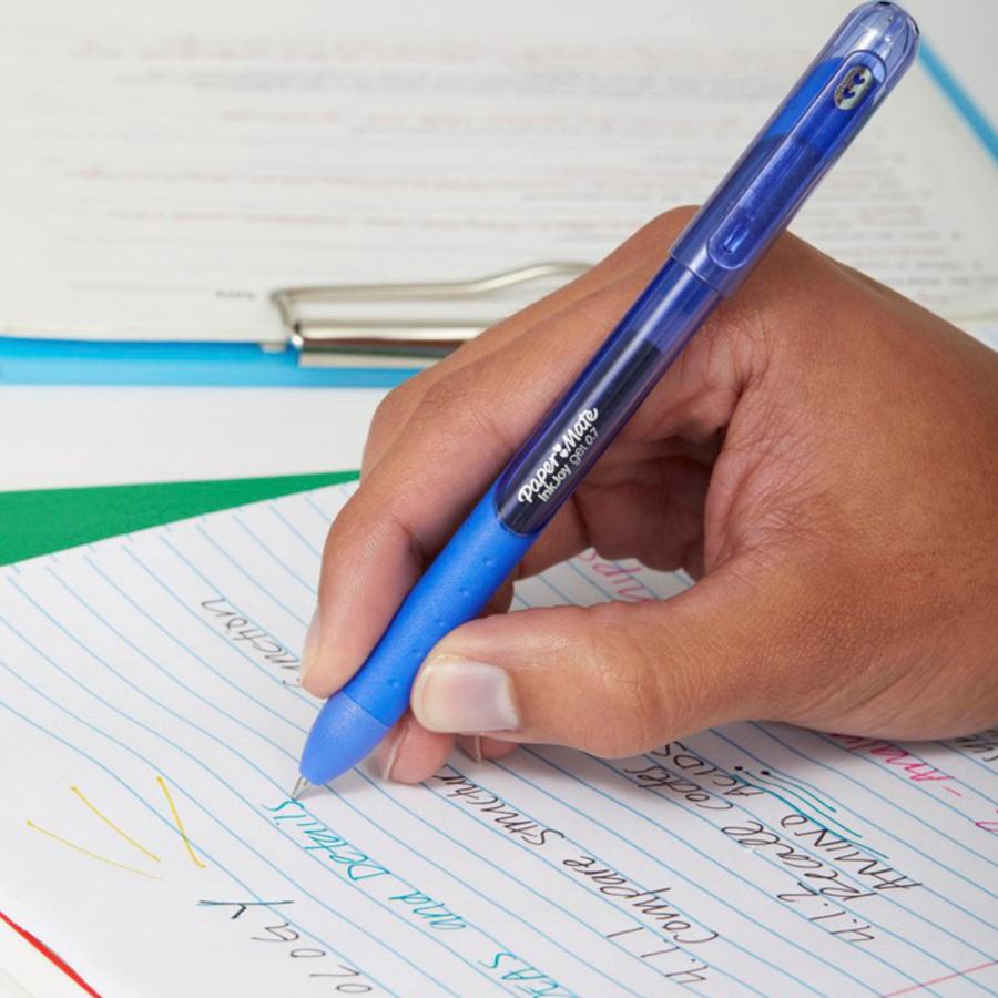 Paper Mate Pen Gel 0.7mm Retractable InkJoy 36//BX Blue 2034485