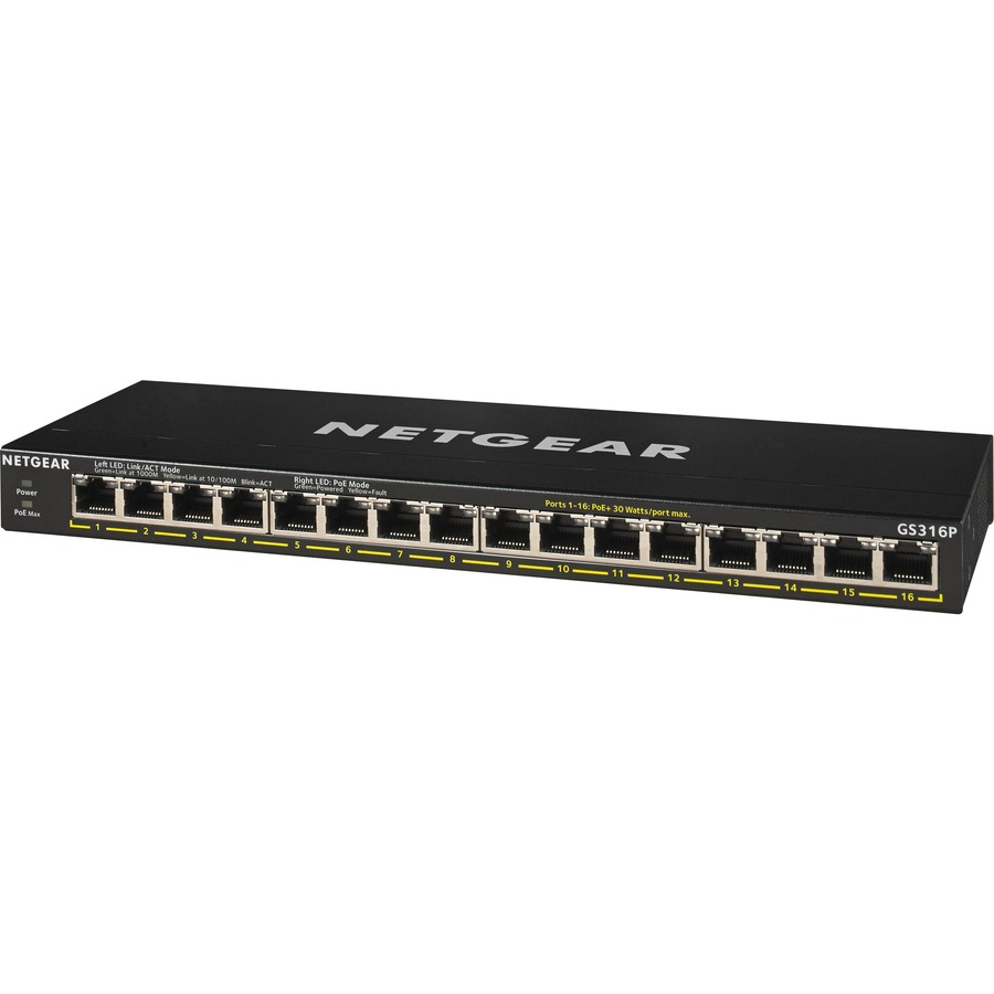 Netgear GS316P 16 Ports Ethernet Switch