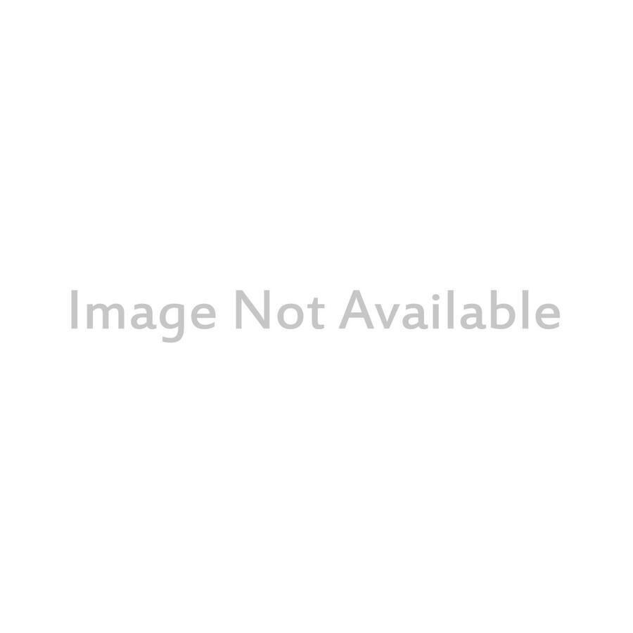link MasterVision Countertop glass barrier with aluminum stand and pass through