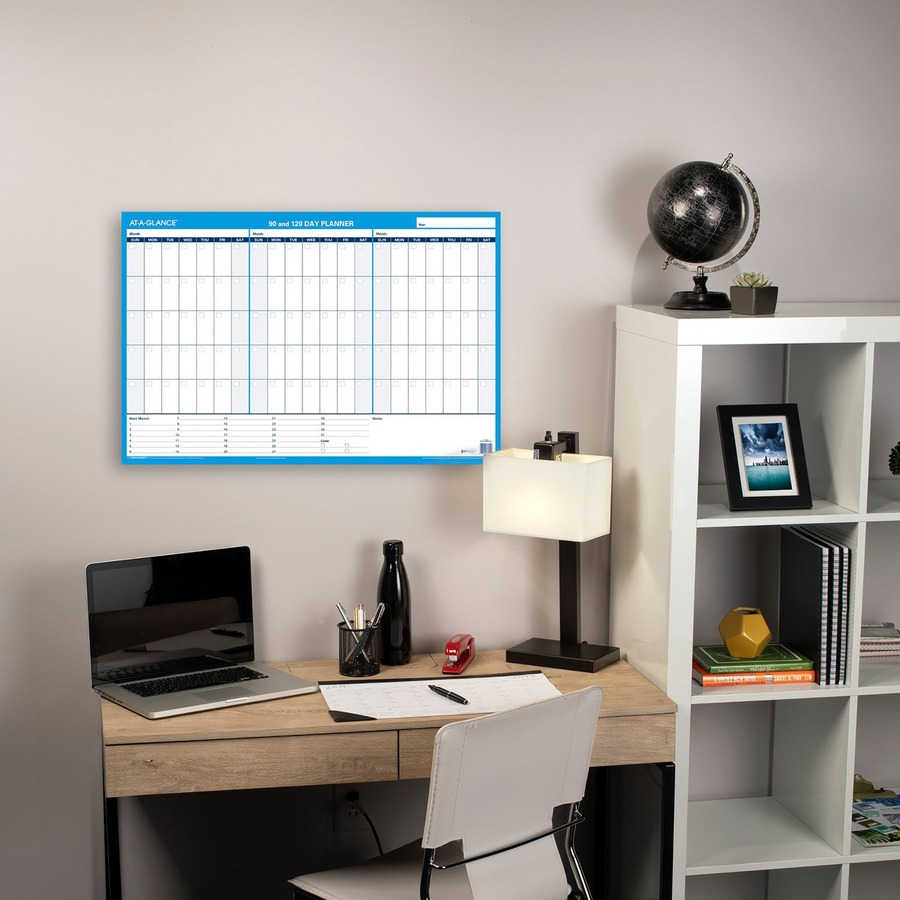 At A Glance 90 120 Day Erasable Wall Planner 36 Quot X 24