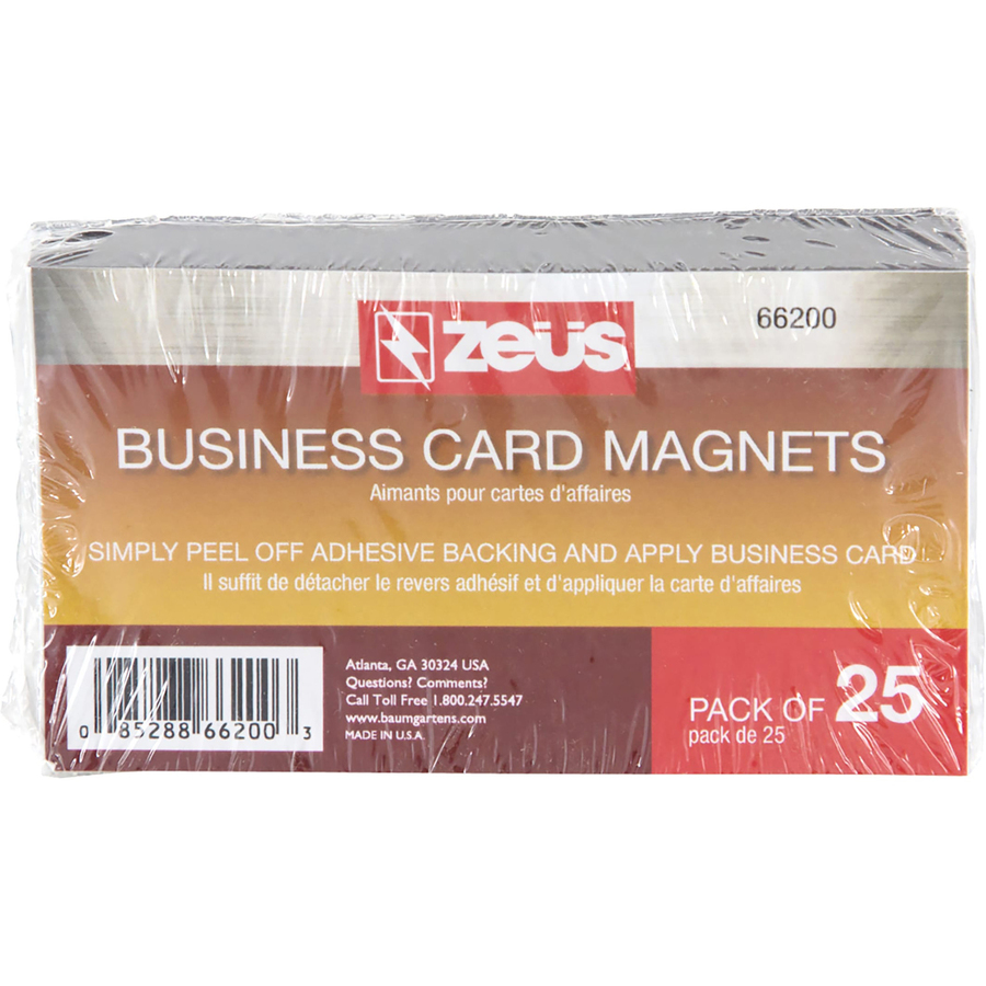 Baumgartens 66200 Baumgartens Magnetic Business Card Bau66200 Bau