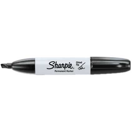 Sharpie Chisel Tip Permanent Markers - Wide Marker Point