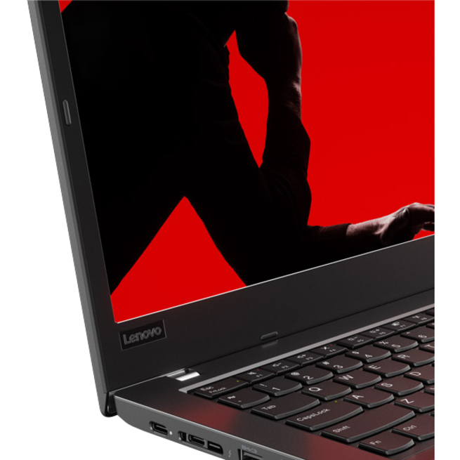 Lenovo ThinkPad L480 20LS0016UK 35.6 cm 14inch Notebook - 1920 x 1080 - Core i7 i7-8550U - 8 GB RAM - 256 GB SSD - Windows 10 Pro 64-bit - Intel UHD Graphics 620 - In