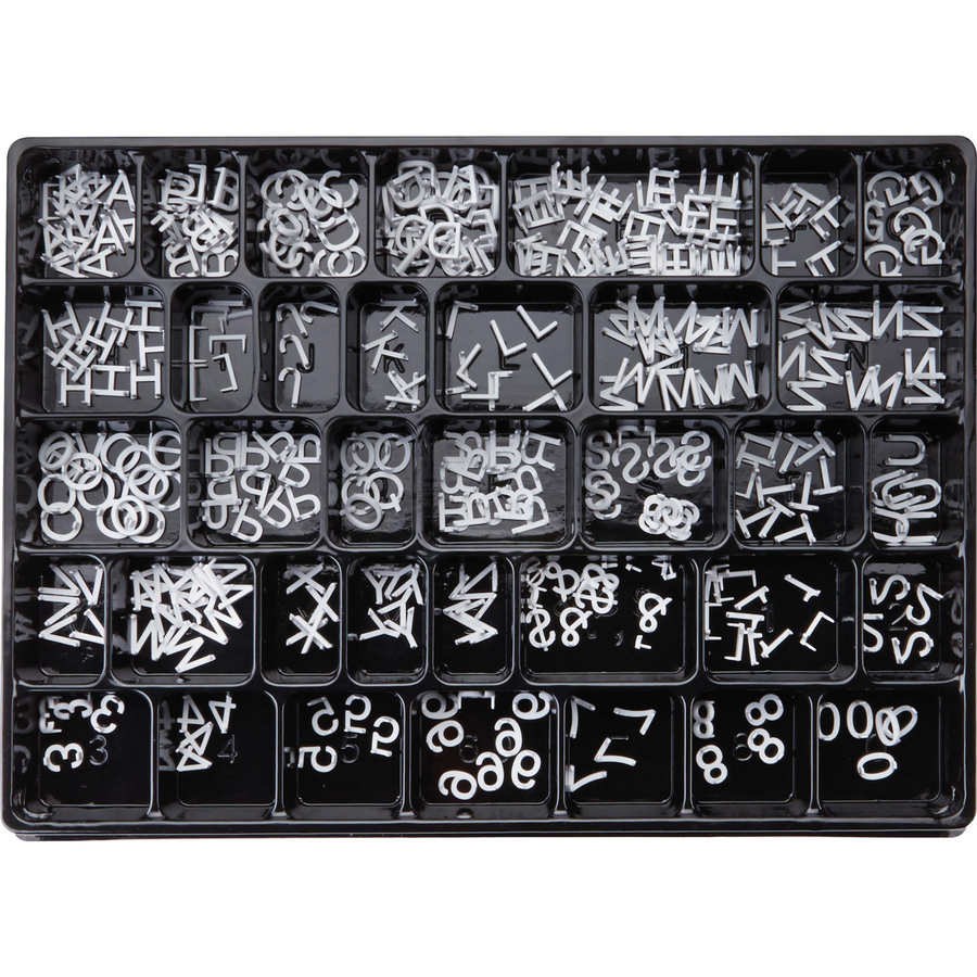 Flip Chart Felt Message Board Decor Board Frame White Letters Symbols Number Characters Bag Catalogues Will Be Sent Upon Request