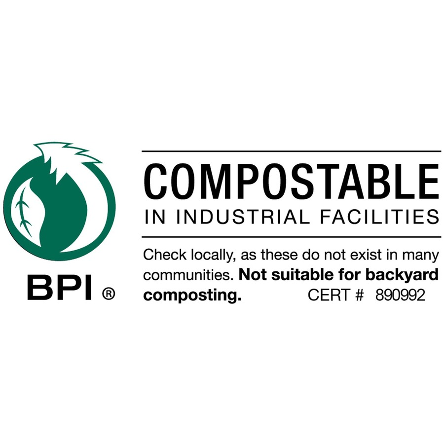 Stout EcoSafe Compostable Trash Bags - 48 gal - 42