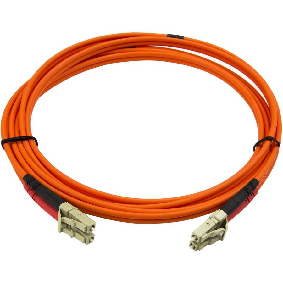 2M Multimode 50/125 Duplex Fiber Patch Cable LC - LC