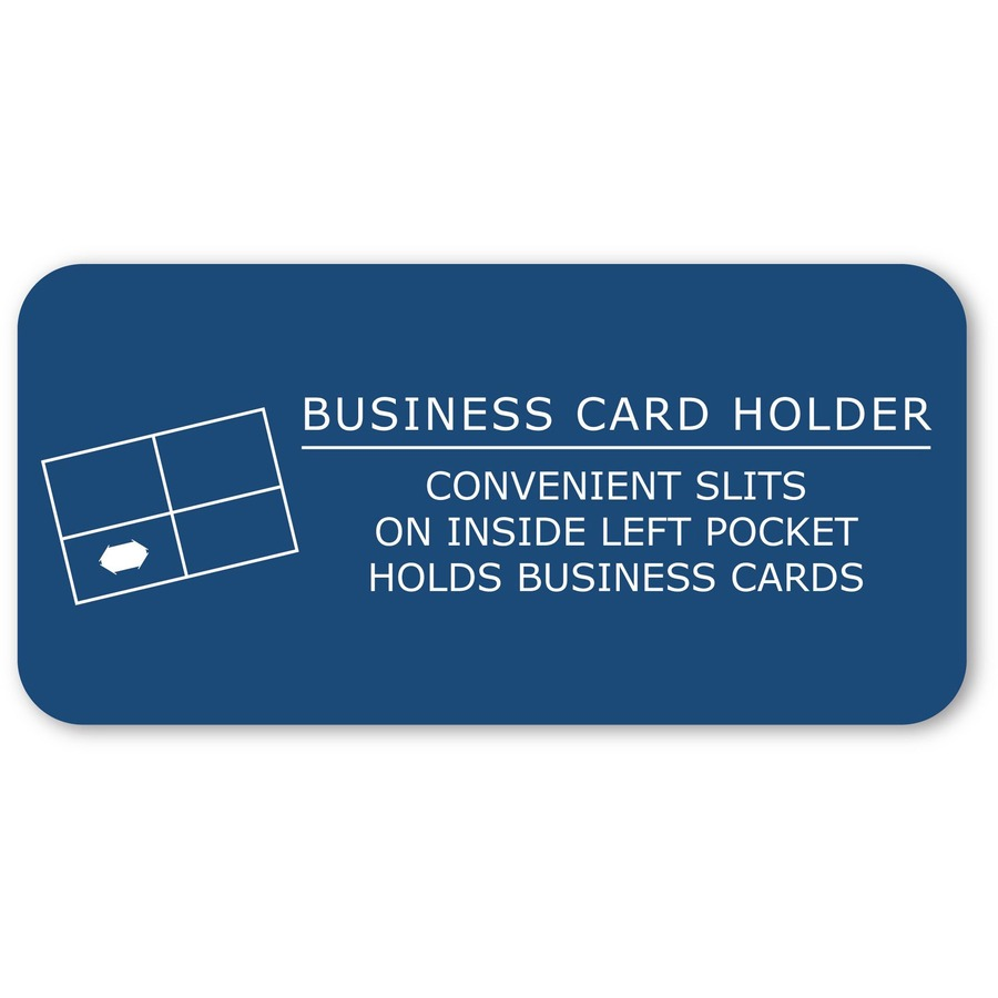 Portfolios - Roaring Spring Embossed 2-pocket Folders - 9 1/2\