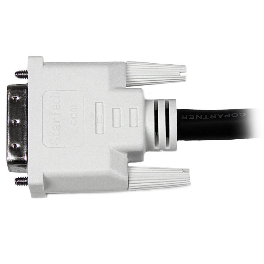 StarTech.com 1 ft DVI-D Dual Link Cable - M/M - DVI-D Dual-Link Male Digital Video - 1ft