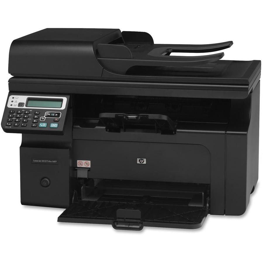 Hp laserjet m1217nfw mfp scanner
