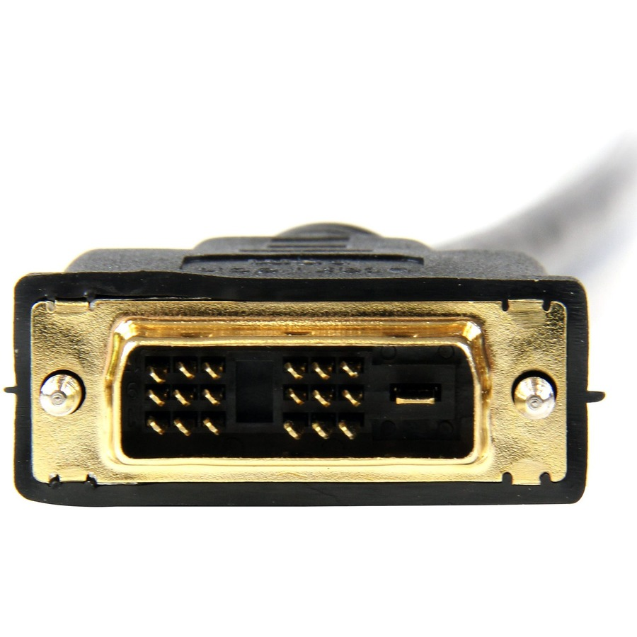 StarTech.com 1m HDMI to DVI-D Cable - M/M - 1 x HDMI Male Digital Audio/Video