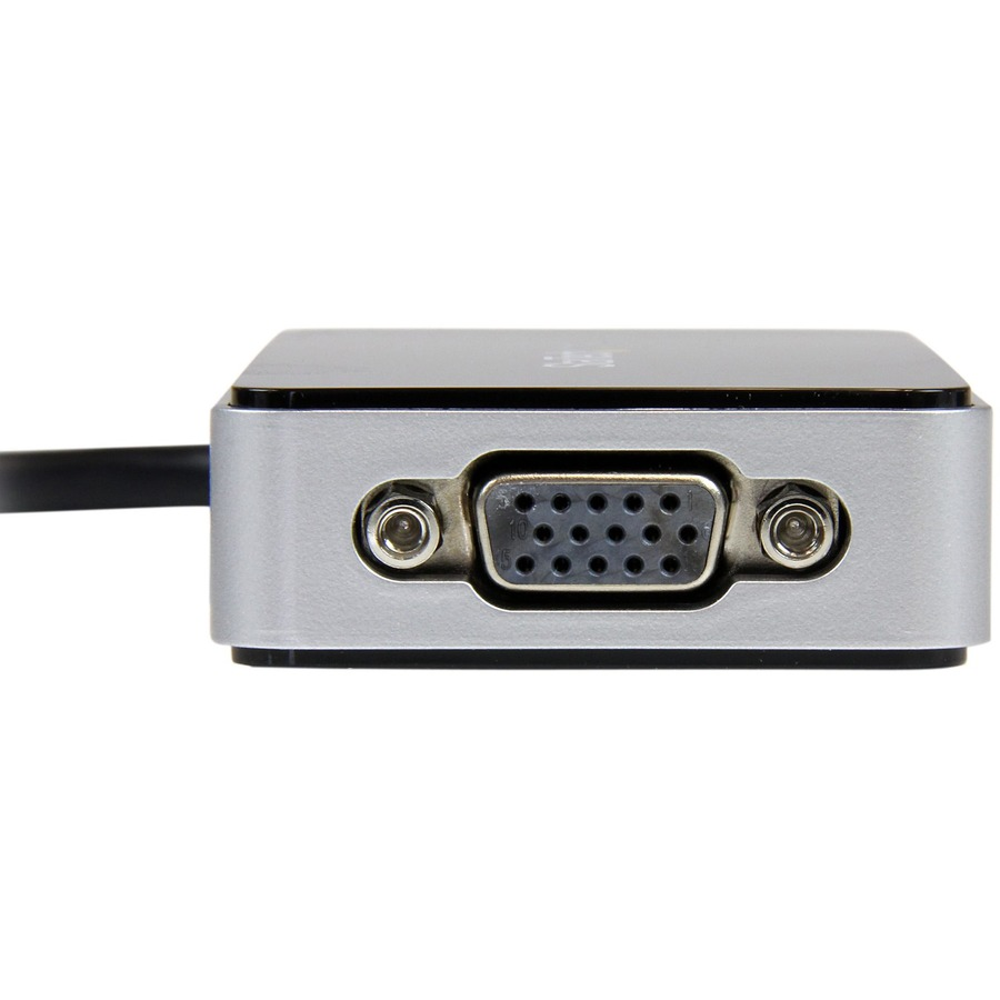 StarTech.com USB 3.0 to VGA External Video Card Multi Monitor Adapter with 1-Port USB Hub