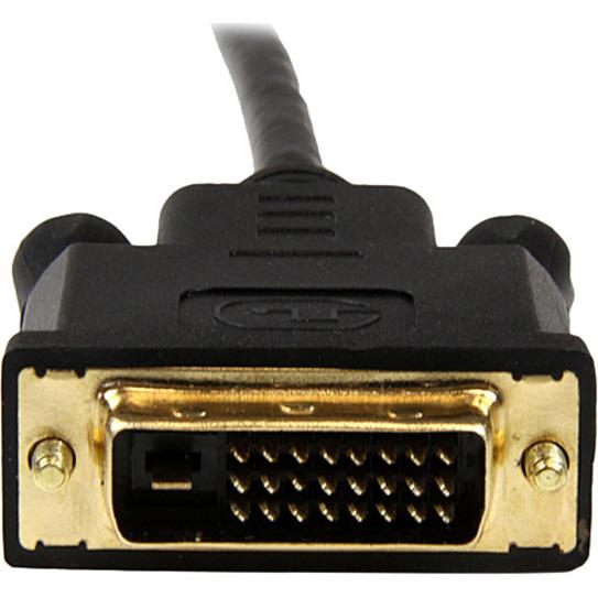 StarTech.com Black 10ft Mini DisplayPort to DVI Adapter Converter Cable