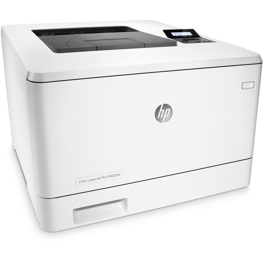 Hp Laserjet Pro M452nw Laser Printer Color Plain Paper