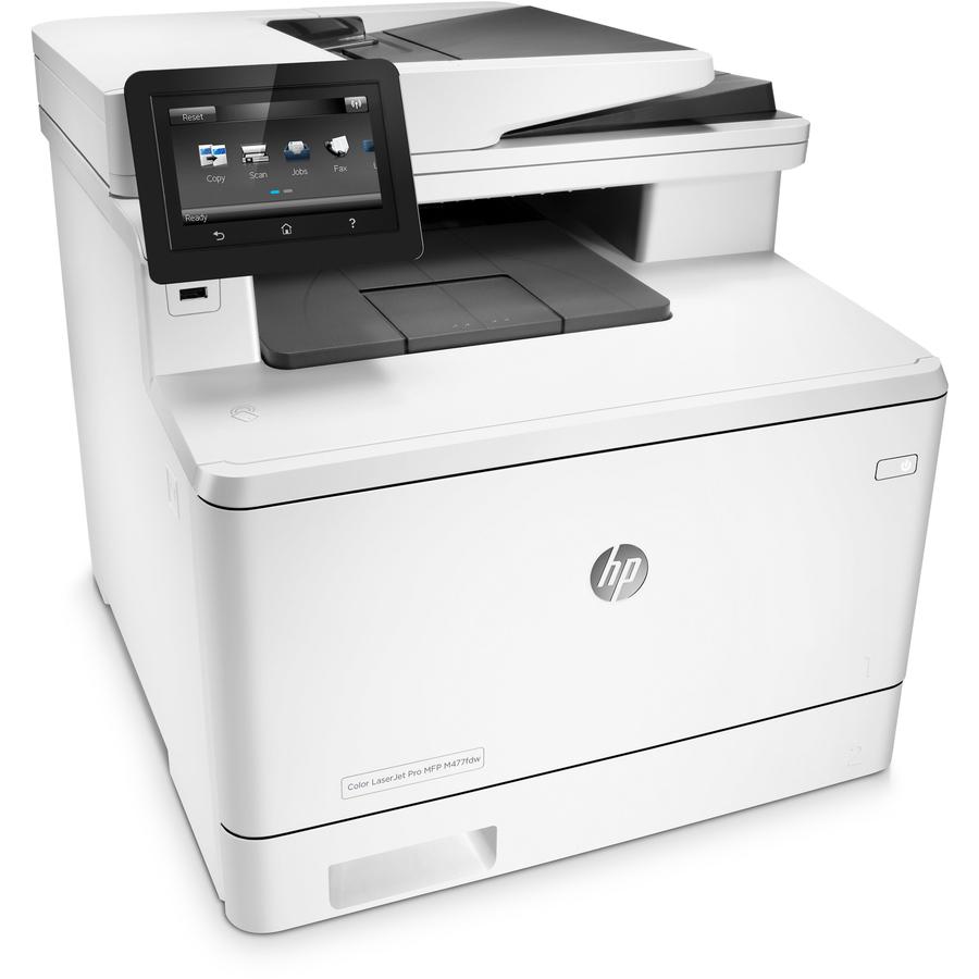 hp laserjet pro m477fdw laser multifunction printer plain paper print. Black Bedroom Furniture Sets. Home Design Ideas