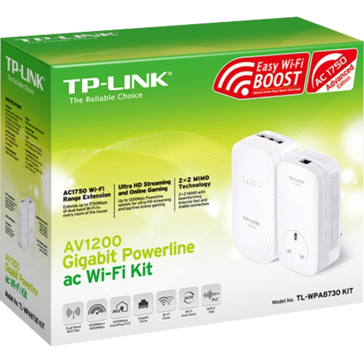 TP-LINK TL-WPA8730 Powerline Network Adapter