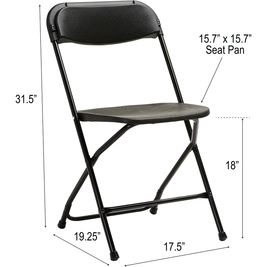Samsonite 2200 Series Injection Mold Folding Chair SML497541050. Bottom  Alternate Image2 ...