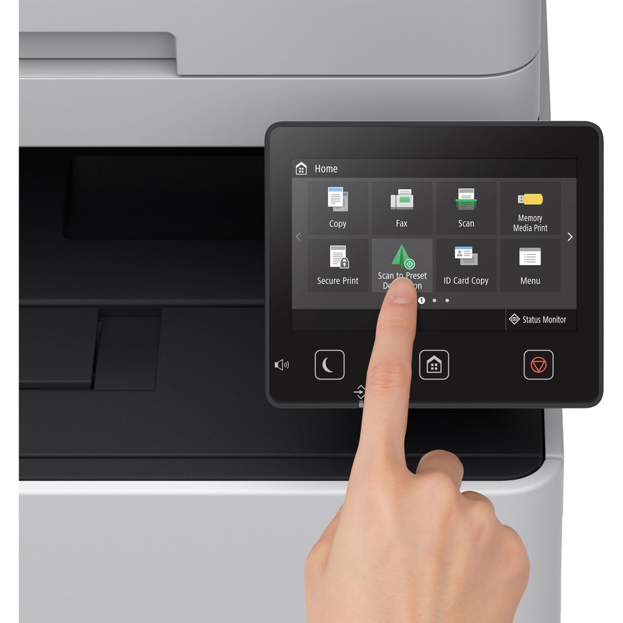 Canon i-SENSYS MF730 MF734CDW Laser Multifunction Printer - Colour