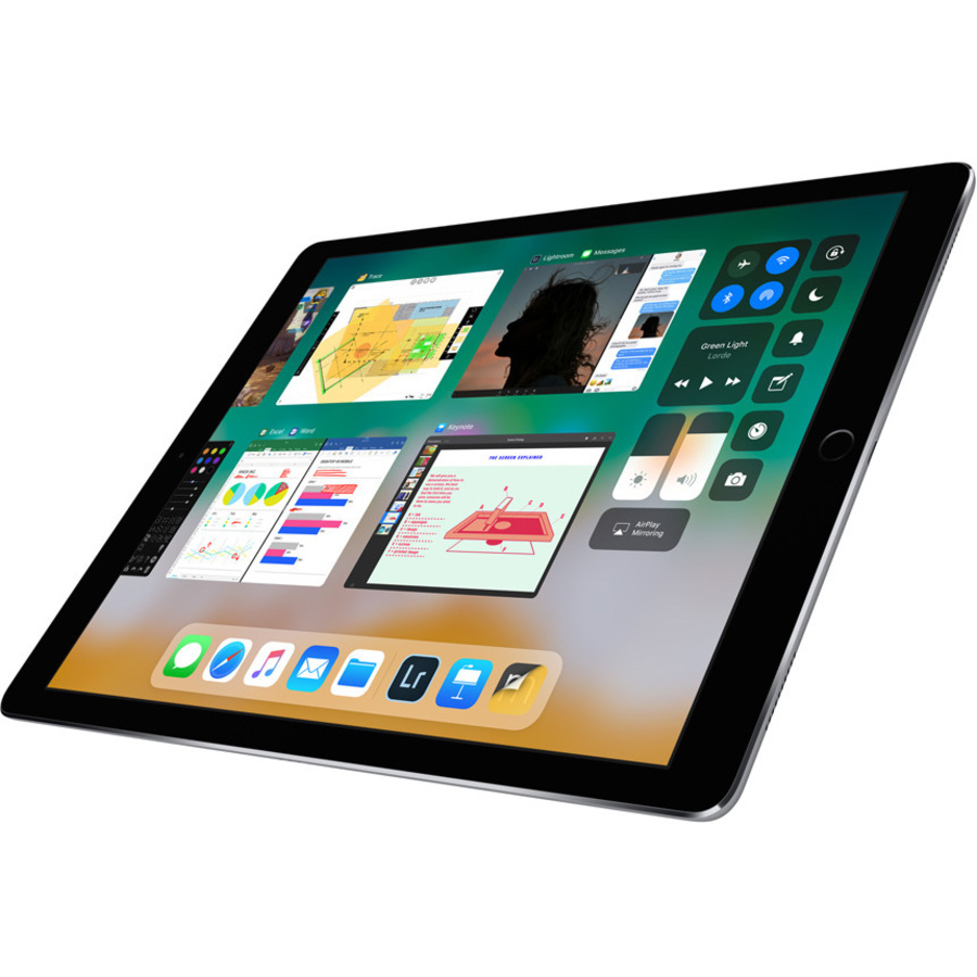 Apple iPad Pro Tablet - 32.8 cm 12.9inch - Apple A10X Hexa-core 6 Core - 256 GB - iOS 10 - 2732 x 2048 - Retina Display - 4G - GSM, CDMA2000 Supported - Space Gray