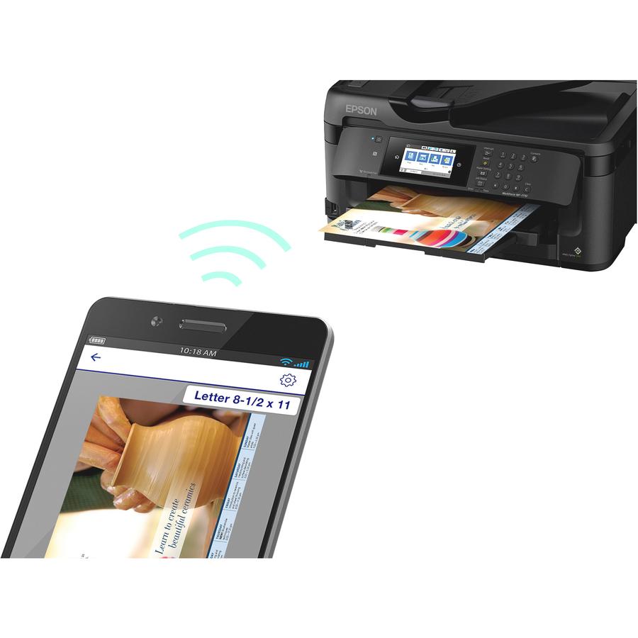 Epson Workforce Wf 7710 Inkjet Multifunction Printer