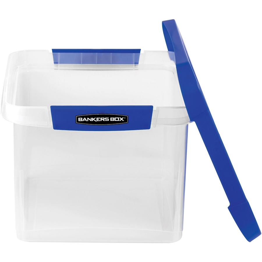 Fellowes Bankers Box Heavy Duty LtrLgl Plastic File Box ICC