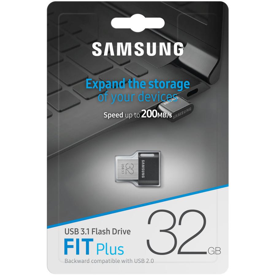 Samsung Fit Plus 32 GB USB 3.1 Type A Flash Drive