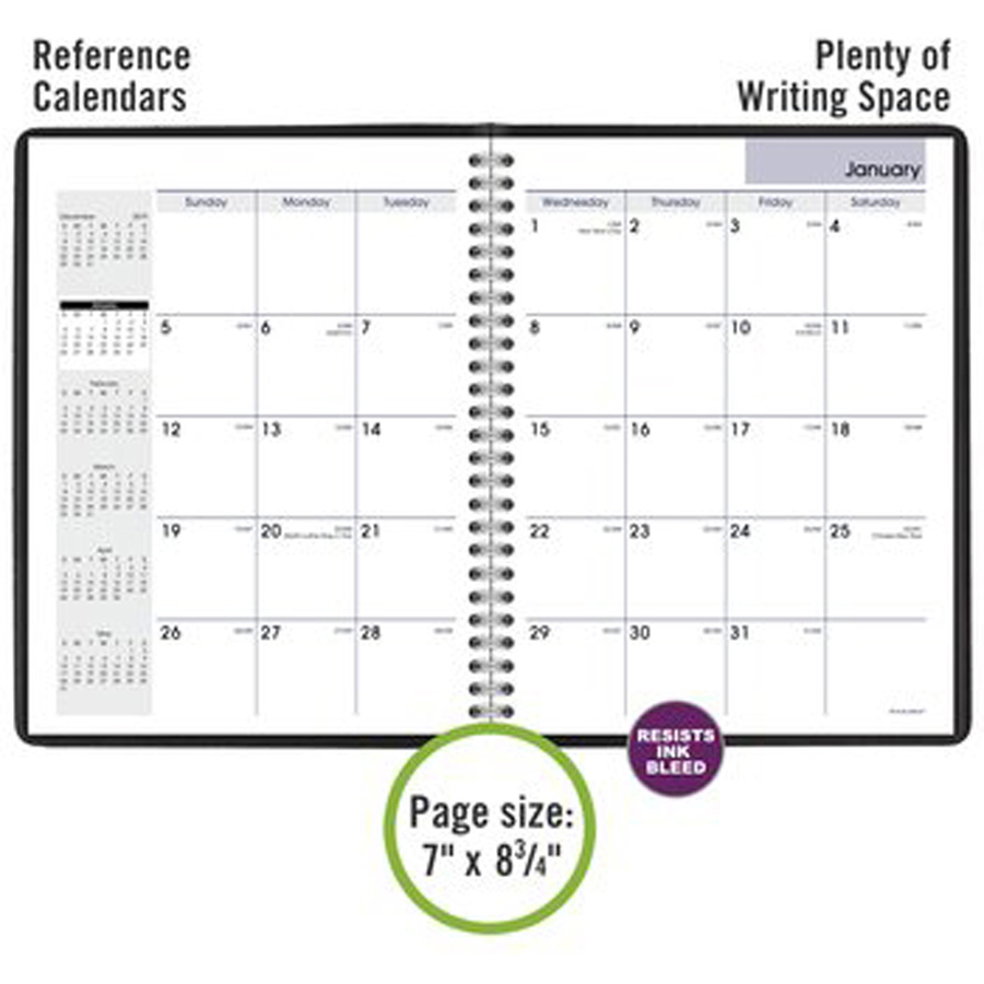 at a glance dayminder monthly planner urban office products