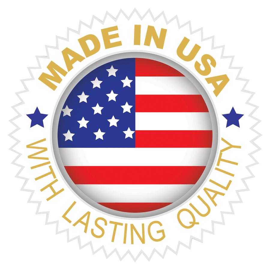 C-Line Self-Adhesive Name Tags - White, Peel & Stick, 3-1/2 x 2-1/4,  100/BX, 92277