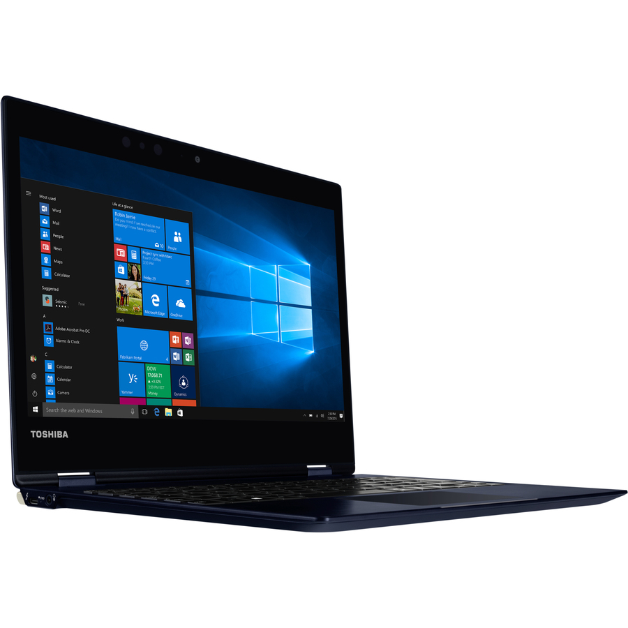 Toshiba Portege X20W-D-10V 31.8 cm 12.5inch Touchscreen LCD 2 in 1 Notebook - Intel Core i7 7th Gen