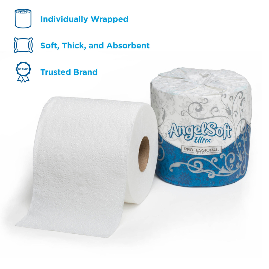 Angel Soft Ultra Professional Series Embossed Toilet Paper