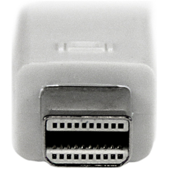 StarTech.com 6 ft Mini DisplayPort to VGAAdapter Converter Cable - mDP to VGA 1920x1200 - White