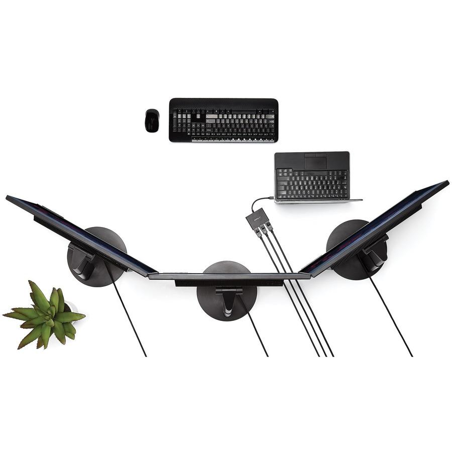 StarTech.com MST Hub - Mini DisplayPort to 3x DisplayPort - Multi Stream Transport Hub - mDP 1.2 to DP