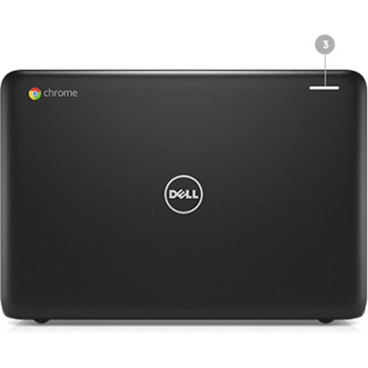 Dell Chromebook 3180 29.5 cm 11.6inch LCD Chromebook - Intel Celeron N3060 Dual-core 2 Core 1.60 GHz - 4 GB - 16 GB Flash Memory - Chrome OS - 1366 x 768 - Black -