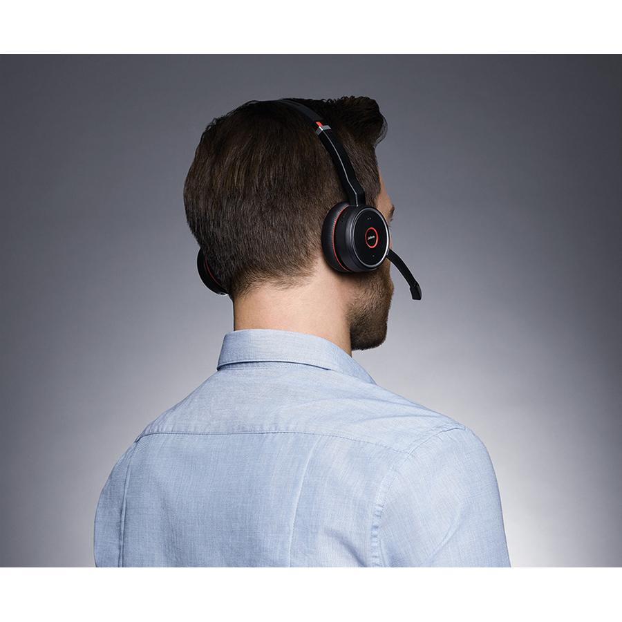 7599 832 199 Jabra Evolve 75 Ms Wireless Over The Head Stereo