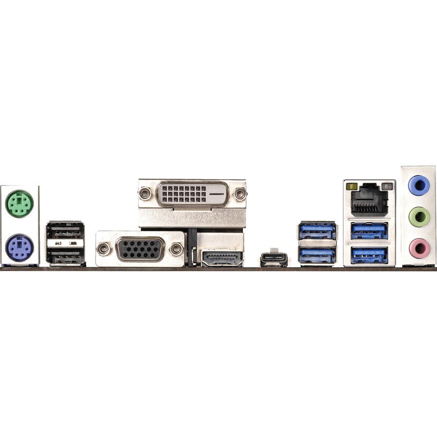 ASRock AB350M Pro4 Desktop Motherboard - AMD Chipset - Socket AM4 - 64 GB  DDR4 SDRAM Maximum RAM - UDIMM, DIMM - 4 x Memory Slots - Gigabit Ethernet  -