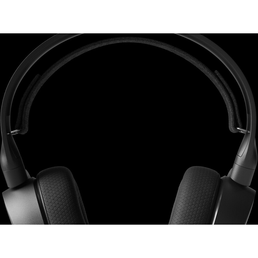 SteelSeries Arctis 3 Wired 40 mm Stereo Gaming Headset - Over-the-head - Circumaural - Black