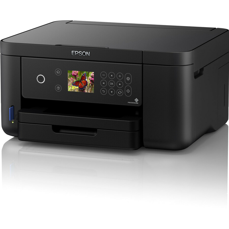 Epson Expression Home XP-5105 Inkjet Multifunction Printer - Colour - Copier/Printer/Scanner - 33 ppm Mono/20 ppm Color Print - 4800 x 1200 dpi Print - Automatic Dup