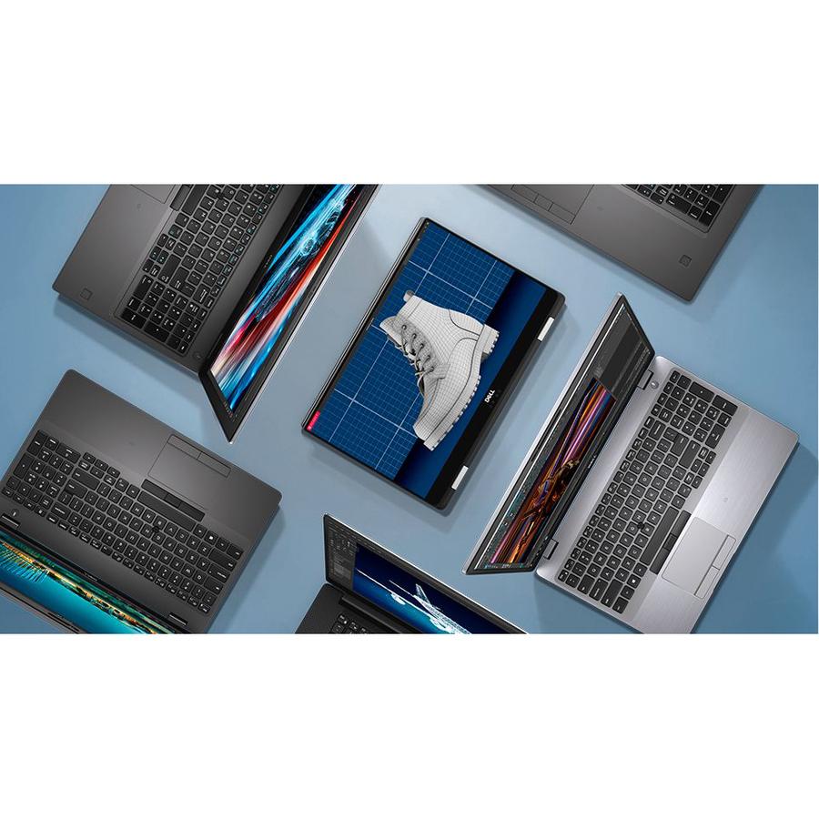 Dell Precision 7000 7540 39.6 cm 15.6And#34; Mobile Workstation - 1920 x 1080 - Core i9 i9-9880H - 16 GB RAM - 512 GB SSD - Windows 10 Pro 64-bit - NVIDIA Quadro T1000 w